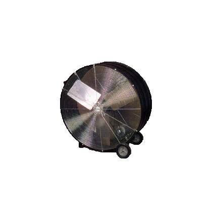 Black Barrel Fan