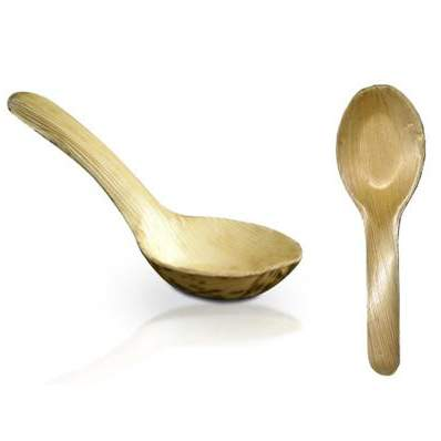 Bamboo Asian Spoon 6.25""