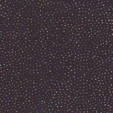 """Glitter Silver & Black 90"""" Square"""