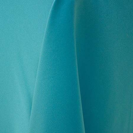 "Lamour Turquoise 120"" Round Linen"