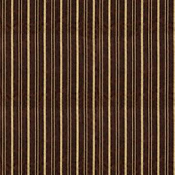 "Delano Stripe Chocolate & Gold 90"" X 156"""