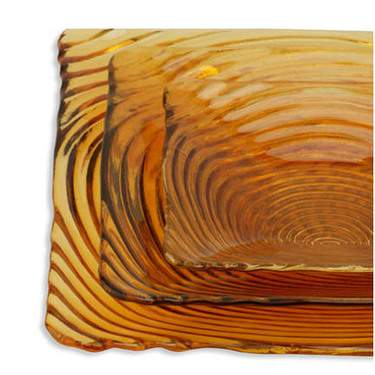 Swirl Amber Pattern