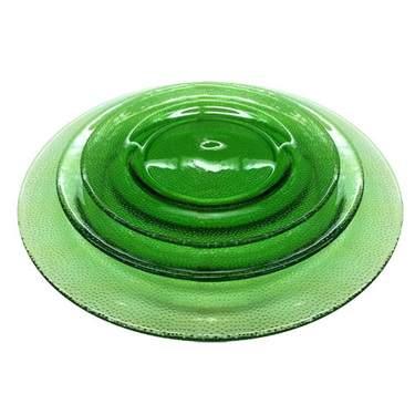Pebble Glass Green Pattern