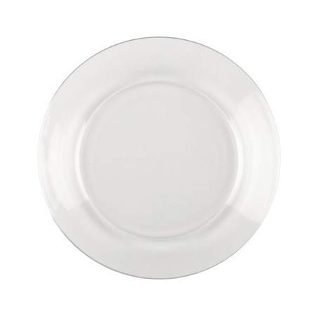 """Clear Glass Salad Plate 8"""""""