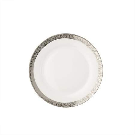 """Silver Paradise Plate 7"""""""
