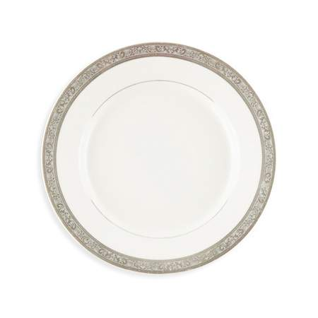 """Silver Paradise Plate 8"""""""
