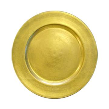 Gold Lacquer Charger
