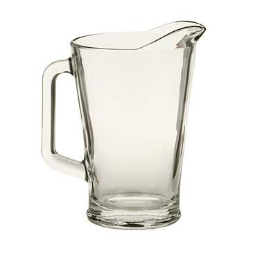 Glass Pitcher 64oz