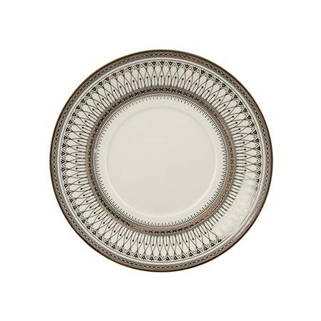 """Gothic Silver Plate 6.7"""""""