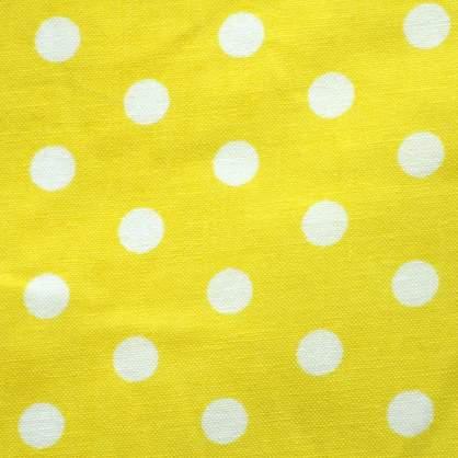 Dot White Square Tie/Sash