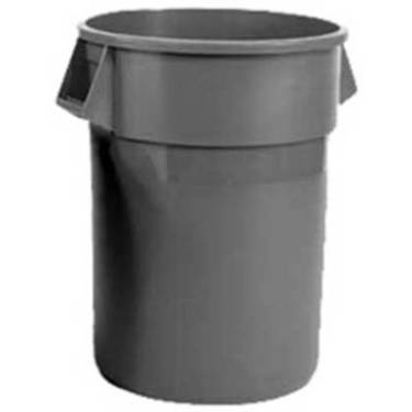 Black Kwik Cover 33 gal Trash Can