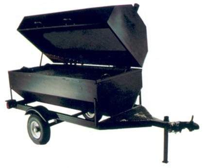 Towable Charcoal Grill