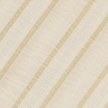 "Dior Stripe Cream 132"" Round"