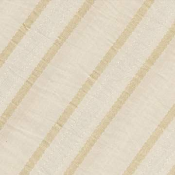 "Dior Stripe Cream 132"" Round"