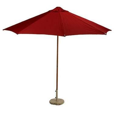 Red Umbrella 9'