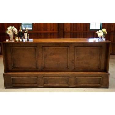 Walnut Wood Bar