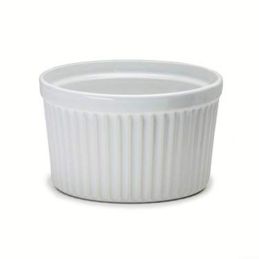 White Coupe Ramekin China 5""