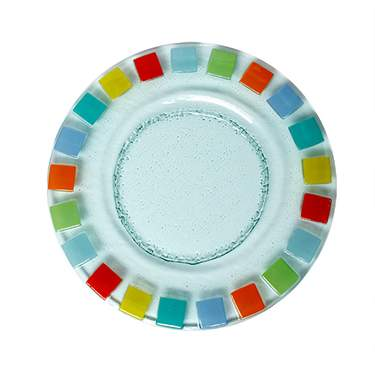 Mosaic Glass Charger