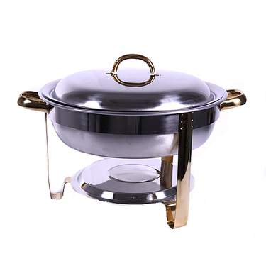 Round Orion Chafer 4qt