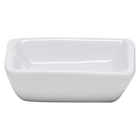 White Square /Saucer Dish