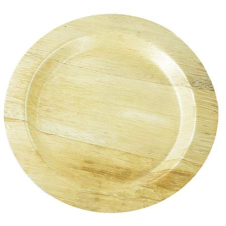 "Bamboo Round Plate 11"" (400 Case)"