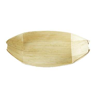 Bamboo Boat Glass 8.5""