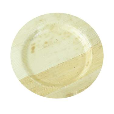 "Bamboo Round Plate 6"" (8 Pack)"