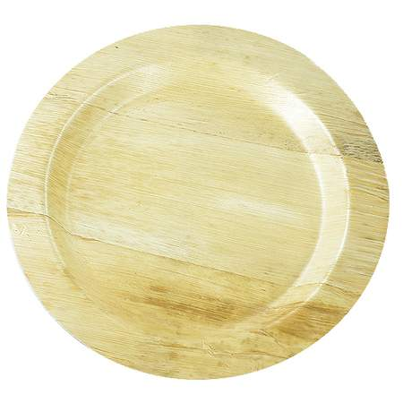 "Bamboo Round Plate 11"" (8 Pack)"