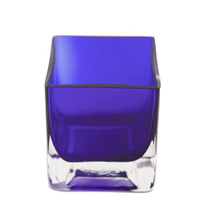 Cobalt Blue Votive Glass