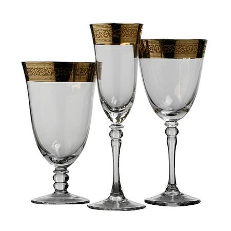 Magnificence Glassware Pattern