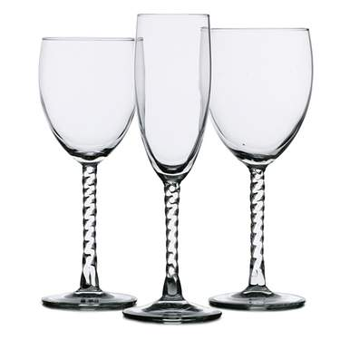 Angelique Glassware Pattern