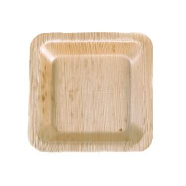"Bamboo Square Plate 3.5"" (1200 Case)"