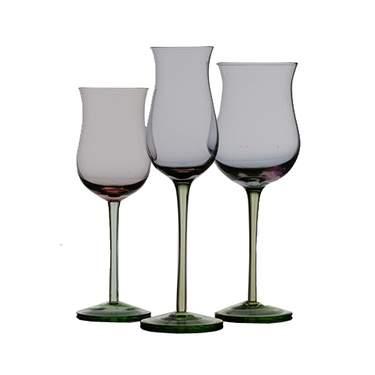 Pink Tulip Glassware Pattern