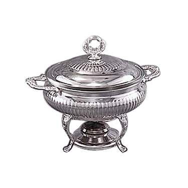 Silver Queen Anne Chafer 3qt