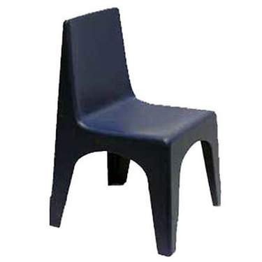 Children's Chair Plastic Navy Blue