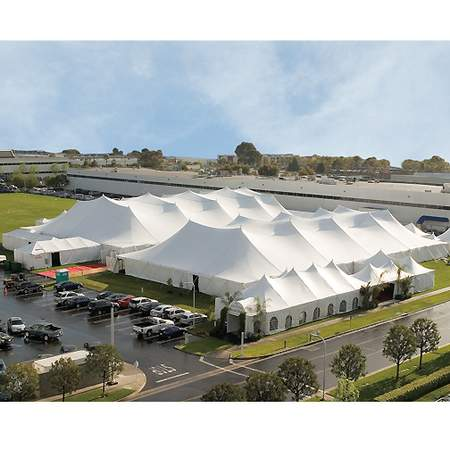Tent 60' X 180' X 8' Genesis Pole U/W