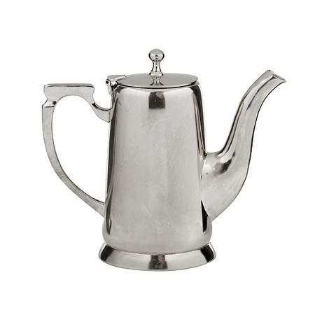 Silver Coffee Server 64oz