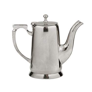 Silver Coffee Server 64oz