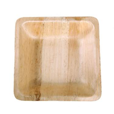 Bamboo Square Bowl 16oz (8 Pack)