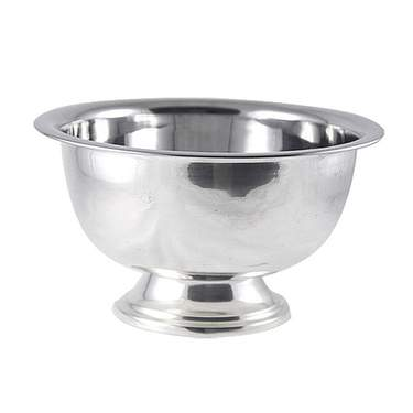 Round Revere Silver Bowl 10""