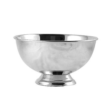 Round Revere Silver Bowl 8""