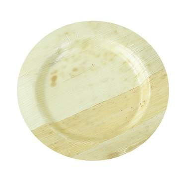 "Bamboo Round Plate 6"" (400 Case)"