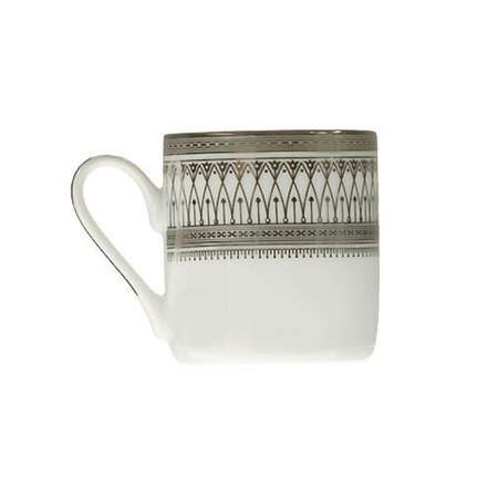 Gothic Silver Demitasse Cup