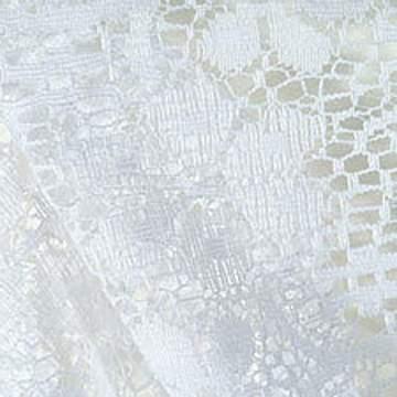 """Lace White 90"""" Square"""