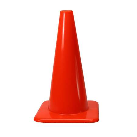 Orange Safety Cone 18""