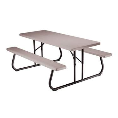 Picnic Folding Table Gray