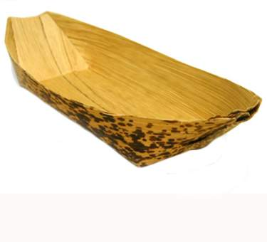 Glass Bamboo Boat 7""