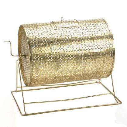 Brass Raffle Drum