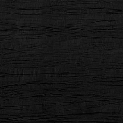 """Crinkle Taffeta Black 120"""" Round"""