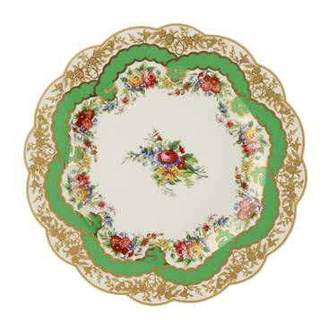 Sevres Antique Green Salad Plate 8.5""